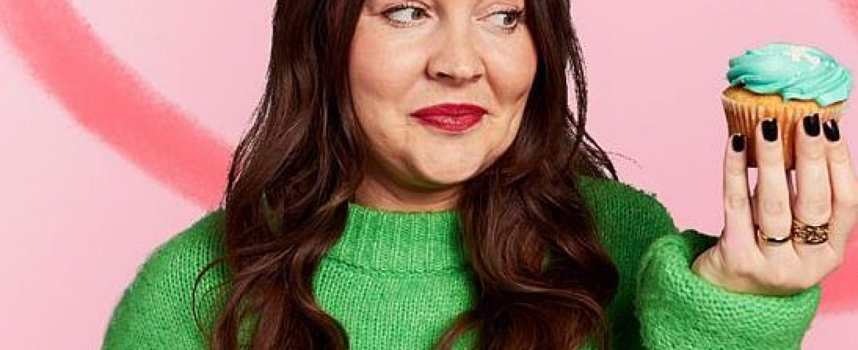 Lacey Turner supports Alzheimer's Society's Cupcake Day 2019