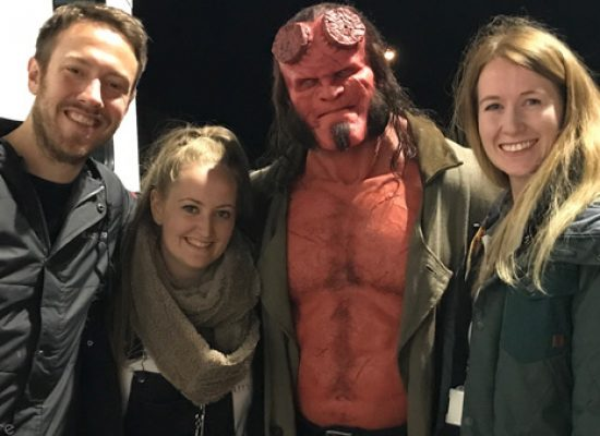 From Bulgaria to Bristol for Hellboy production