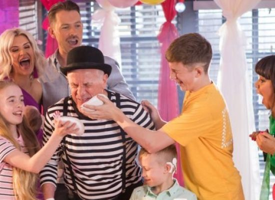 Family Themed Hollyoaks titles launch