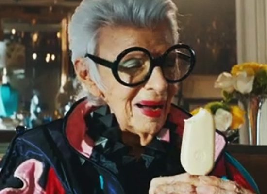 Iris Apfel the new face of Magnum campaign #TrueToPleasure