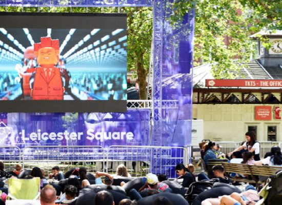 Free big screen of movies returns to Leicester Square Gardens this August