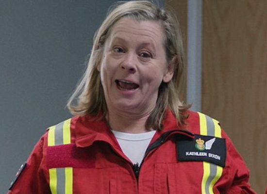 Jane Hazlegrove briefly reprises 'Dixie' role for Casualty