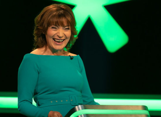 Lorraine Kelly opens STV's Cash Machine
