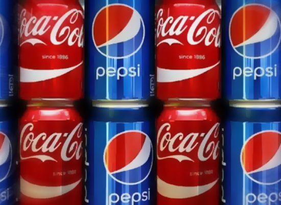 Channel 5 look at the Coca Cola vs Pepsi drinks battle