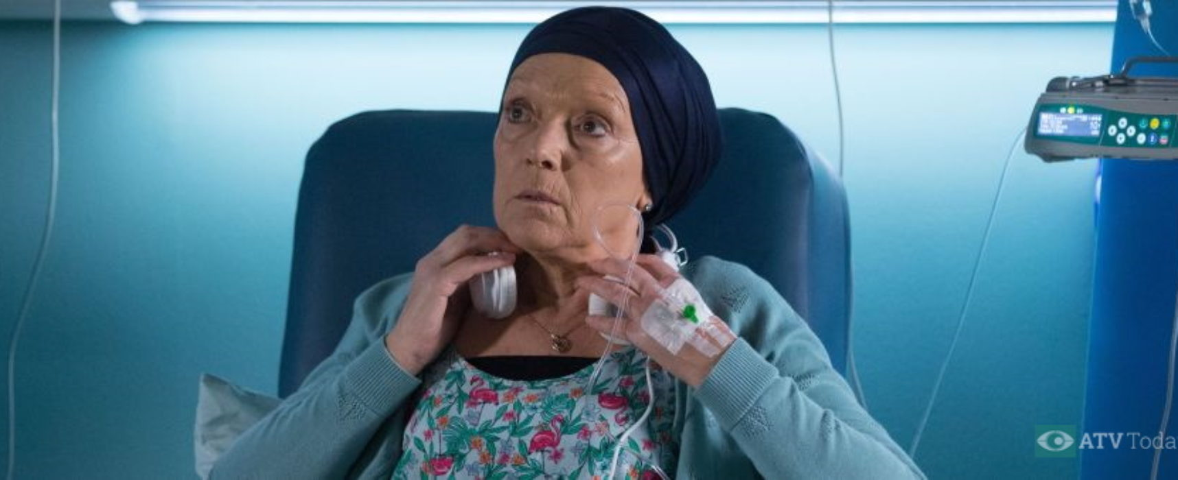 EastEnders' Gillian Wright reflects on cancer plot