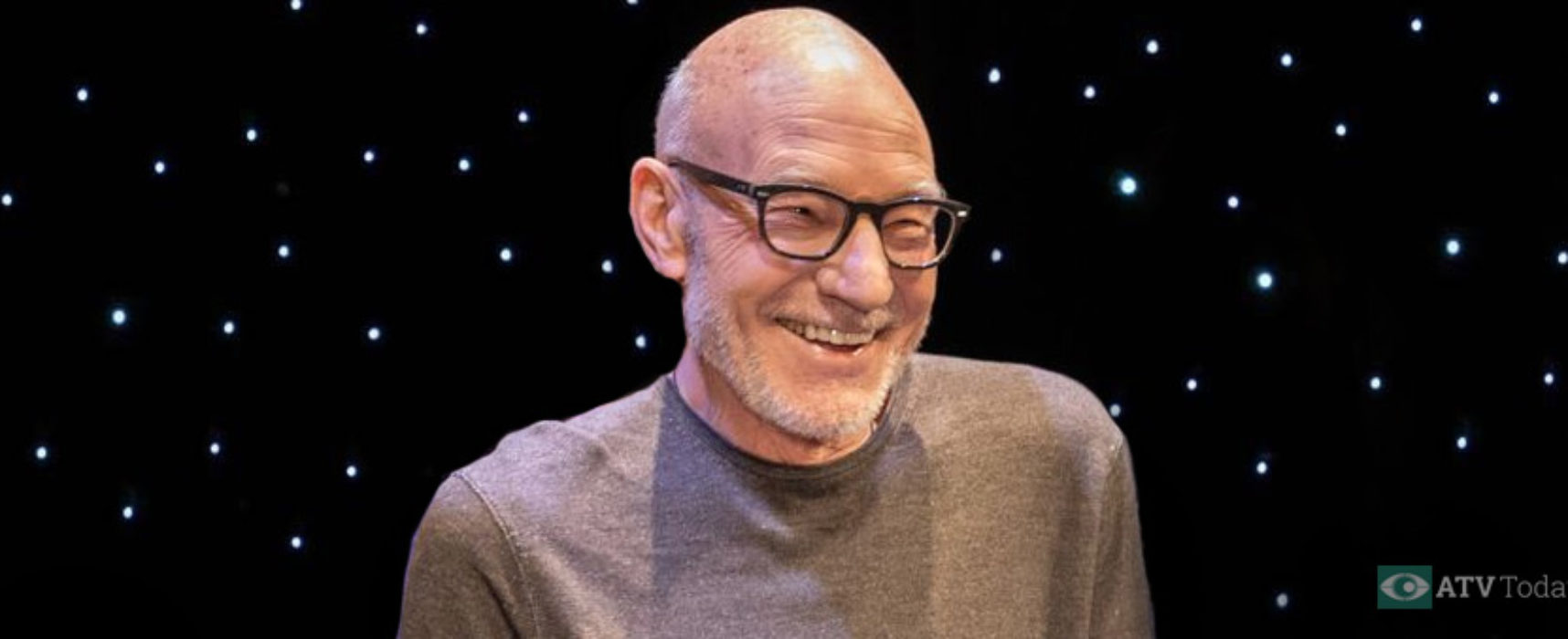 Sir Patrick Stewart inducted into Lucca Walk of Fame