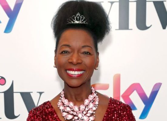 Floella Benjamin honoured at 2019's Women in Film and Television Awards
