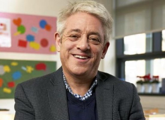 John Bercow to deliver Channel 4's Alternative Christmas Message