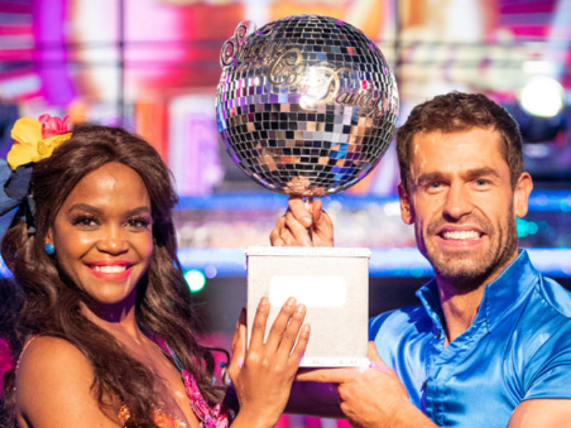 Kelvin Fletcher takes home the Strictly gong for 2019