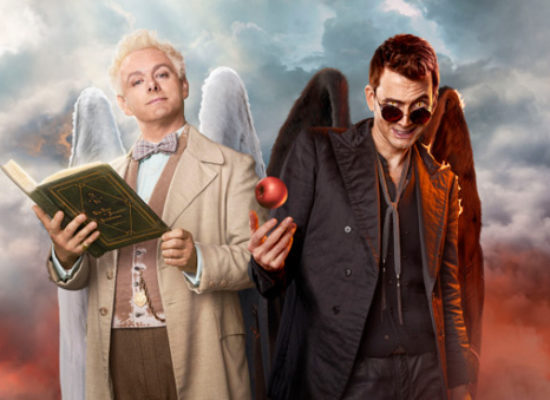 Michael Sheen and David Tennant star in Good Omens