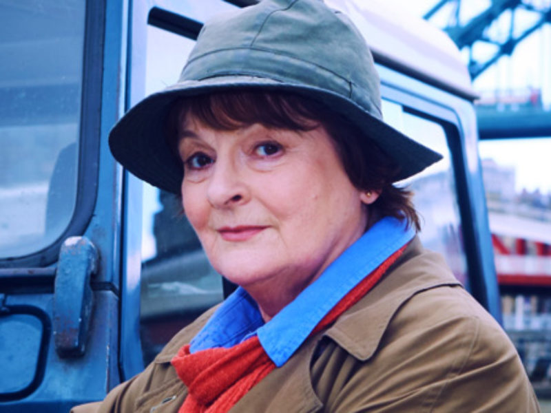 Brenda Blethyn ponders another grim case as Vera