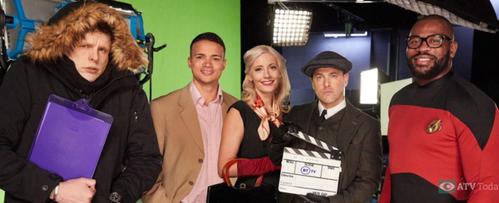 BT Sport presenters take on alternative telly roles