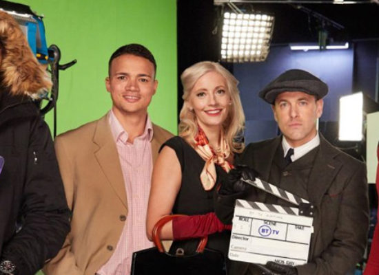 BT Sport presenters take on alternative telly roles