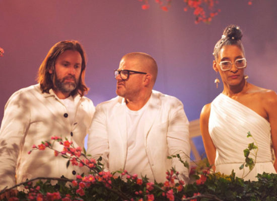 Heston Blumenthal, Niklas Ekstedt and Carla Hall are Crazy Delicious