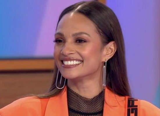 """Alesha Dixon on motherhood: """"I have days when I'm crying and exhausted, but I try my best"""""""