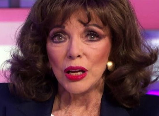Dame Joan Collins talks her coronavirus precautions