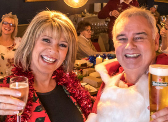Eamonn Holmes and Ruth Langsford promote Brewing Good Cheer 2019