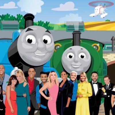 Thomas & Friends celebrates International Friendship Day with stunning interactive artwork