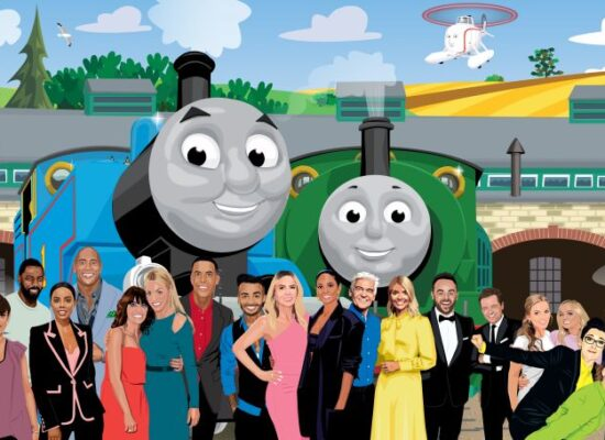 Thomas & Friends celebrates International Friendship Day with stunning interactive artwork