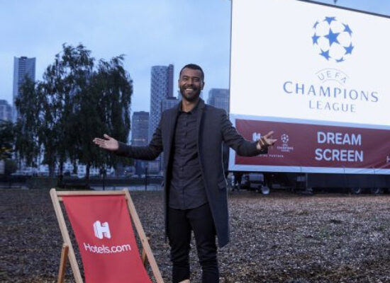 Ashley Cole and Yaya Toure enjoyed Champions League semi-final at a drive-in cinema