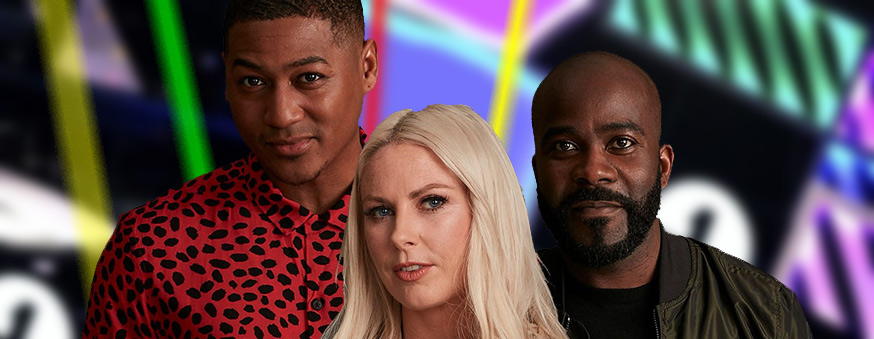 Rickie, Melvin and Charlie set to take on Radio 1's iconic Live Lounge show.